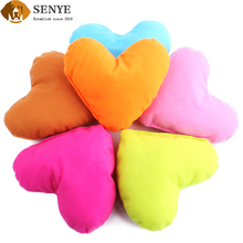Pet Kennel Matching Love Small Pillow Plush Dog Toy As a gift