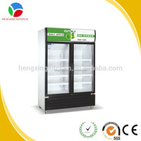 commercial display freezer/used supermarket refrigerator and freezer/refrigerator freezer