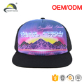 wholesale blank screen printed technical foam trucker hat mesh cap