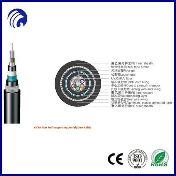 China Mobile Communication Cable GYTA used in duct and aerial