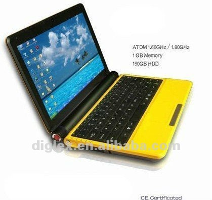 China low price 10.2 inch mini laptop UMPC U30A