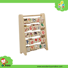 Wooden Alphabet Abacus English Learning Toys for Child