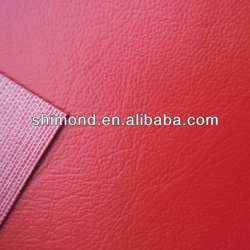 New Design Embossed PVC Leather For leather sectional sofa