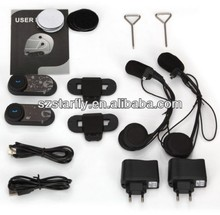 newsest motorcycle helmet headset bluetooth intercom with 1000m free talking