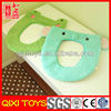 Cute design high quality plush toilet seat