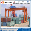 Nucleon 30ton double beam container rubber tyre gantry crane