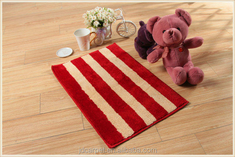 water absorbent polyester bath rug