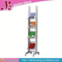 small cube Metal display, MX9846 glass shoes display shelf
