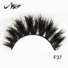 Popular Styles custom thick horse false eyelash with packaging box