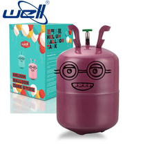 13.4L portable gas cylinder making machine for balloons helium tank