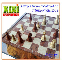 2016 Hot sale personalized chess game wooden chinese chess set