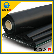 Styrene Butadiene EDAR Black 15Mm SBR rubber Widely Used Industrial Thickness White Sbr Rubber Sheet