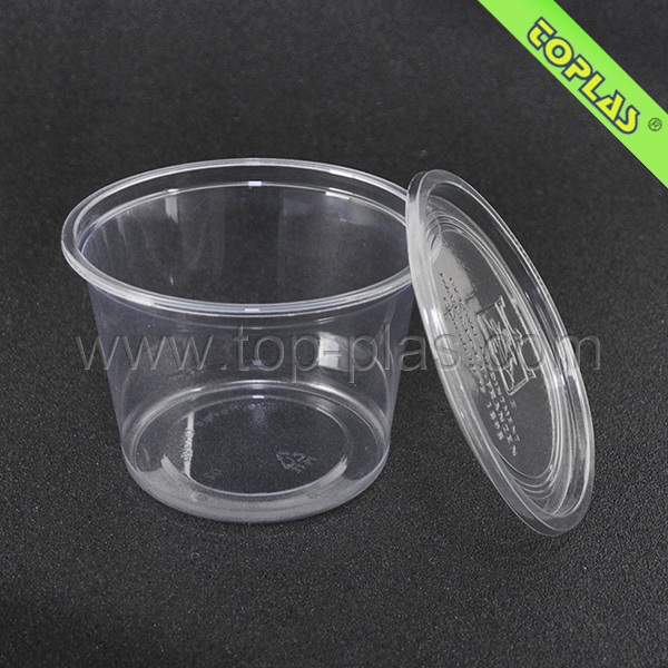 650ml PET Clear Chocolate Box With Printing