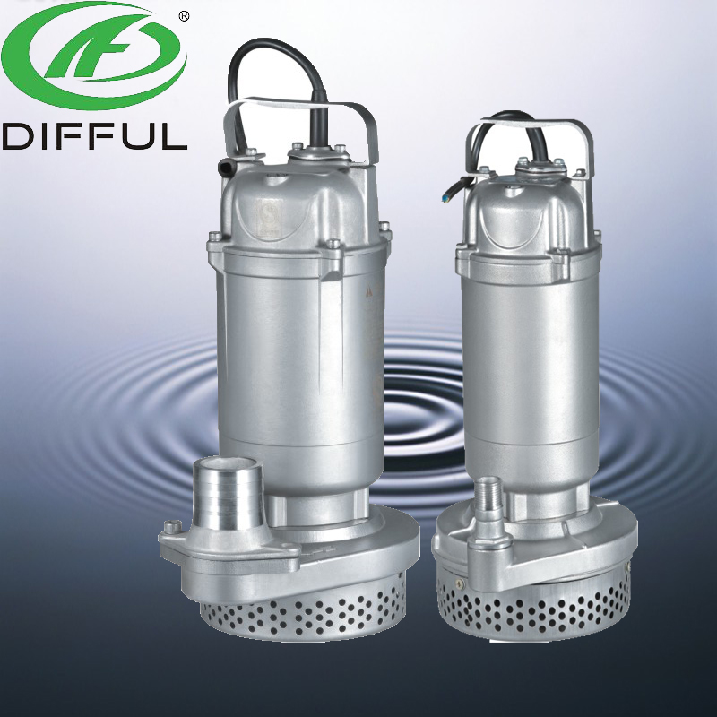 stainless steel pump submerged pump 1.5 hp water submersible pump