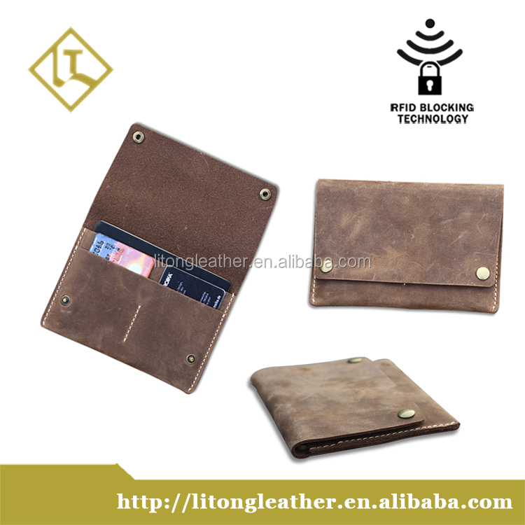 Simple Style passport cover passport holder Crazy Horse Leather travel wallet