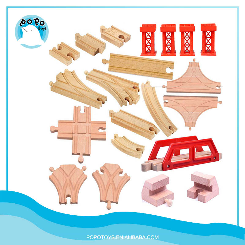 Thomas compatible Wooden Train Track