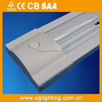 motion sensor added led dimmable hallway wrap around light