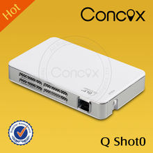 Video projector best price data show top computer game play easy carry entertainment projectors Concox Qshot0