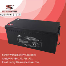 12v 220ah Sealed Lead Acid Solar Battery AGM Deep Cycle UPS Battery