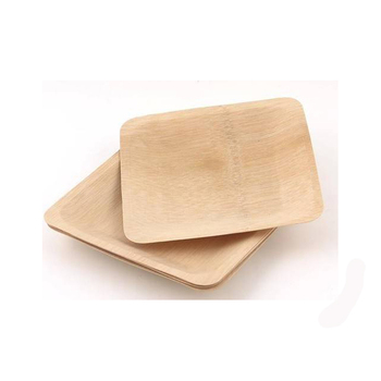 Multipurpose disposable dinner plates for restaurant bamboo wood