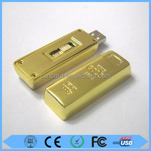 Low price promotion 8gb usb gold bar