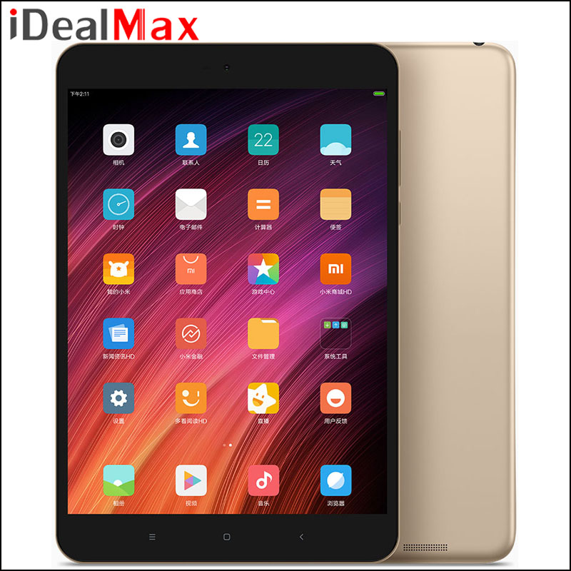 Original Xiaomi Mipad Mi Pad 3 Wifi Tablet PC 7.9 inch 2048*1536 MTK8176 Hexa Core 4GB RAM 64GB ROM MIUI 8 Camera 13.0MP 6600mAh
