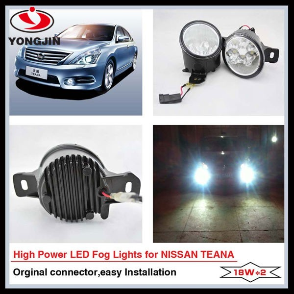 Hot sale led car fog light for Nissen TEANA