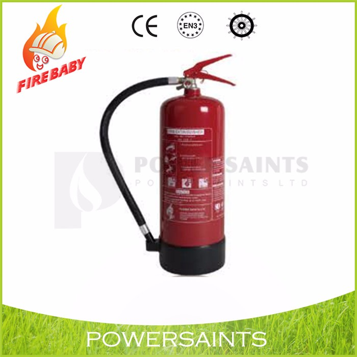 EN3 Approved 6kg Dry Powder ABC fire extinguisher