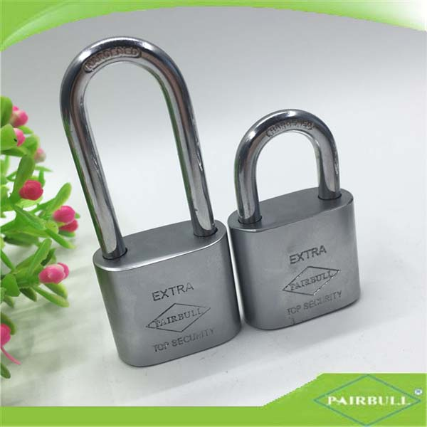 universal hardened iron office padlock/safety round edge lock