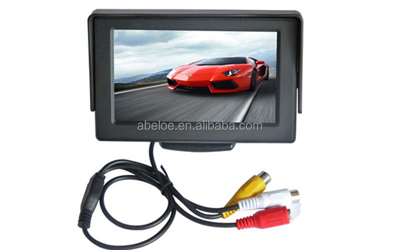 Factory Supply 16:9 MP3 / MP4 Players 640*480 Car Back Seat Lcd Monitor