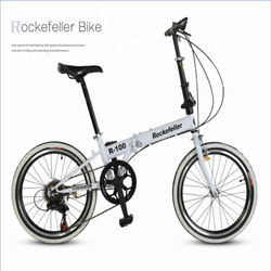 Rockefeller R100 High Quality 20 Inches Steel Folding Bike