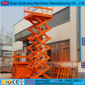 electric hydraulic scissors warehouse lift