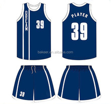 High quality wholesale blank custom sublimation new best lastest basketball jersey design 2017