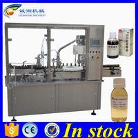 Low price automatic liquid filling and capping machine,filling line