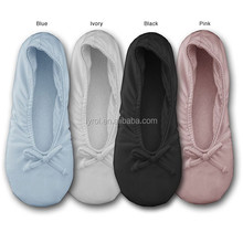 2016 wholesale china women slipper shoes indoor slippers satin home ballerina shoes