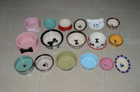 2014 new pet accessories pet bowl.different colors of pet bowl