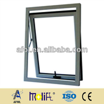 2013 New Model European Style Aluminum Awning Window