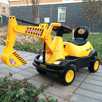 Factory price Baby Battery Ride on toy excavator Children Car toy