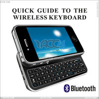 Wireless bluetooth keyboard for iphone&ipad P-iPN4BLUETOOTHKB001