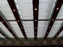FSS electric canopy shade for decoration