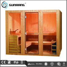 Traditional Big Size Steam Sauna Room Total Sauna