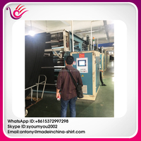 Keqiao Fabric Market China Textile City Fabric Agent and United States Customers Visit Polar Fleece weaving workshop