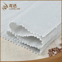 High quality oem plain dyed breathable blended lady garment fabric