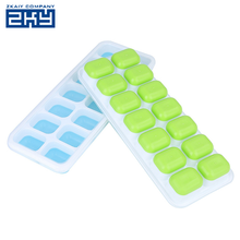Professional Quality Easy Release Space Saving Personalized Custom Silicon Ice Cube Tray