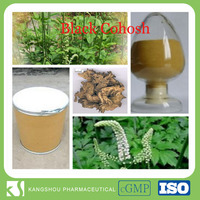 Natrual Blak Cohosh P.E,Black cohosh Root extract with 8% Triterpene Glycosides