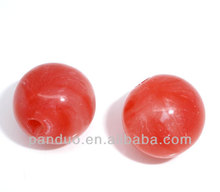 50 Acrylic Round Spacers Beads 12mm(Small Hole),8seasons