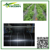 Plastic mulch films black anti barrier weed mat
