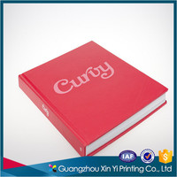 Luxury English hardcover art book printing service in China