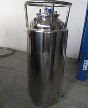 SS304 200LB Infinity Jacketed Solvent Tank W/ Sight Glasses