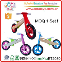 New Design Wooden Balance Bicycle Toy Children Educational Playing Set Game Kids Bike for Wholesale